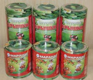 Продукция для консервации от компании Маранде